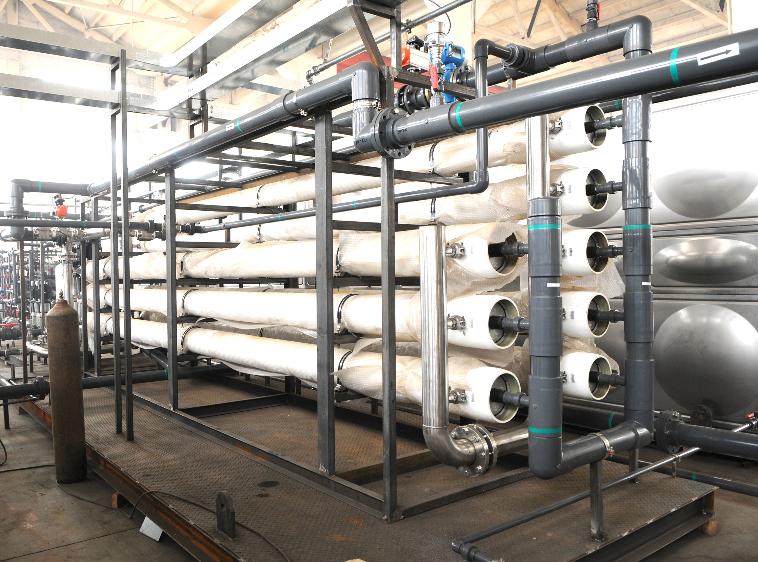 海水淡化设备的步骤流程