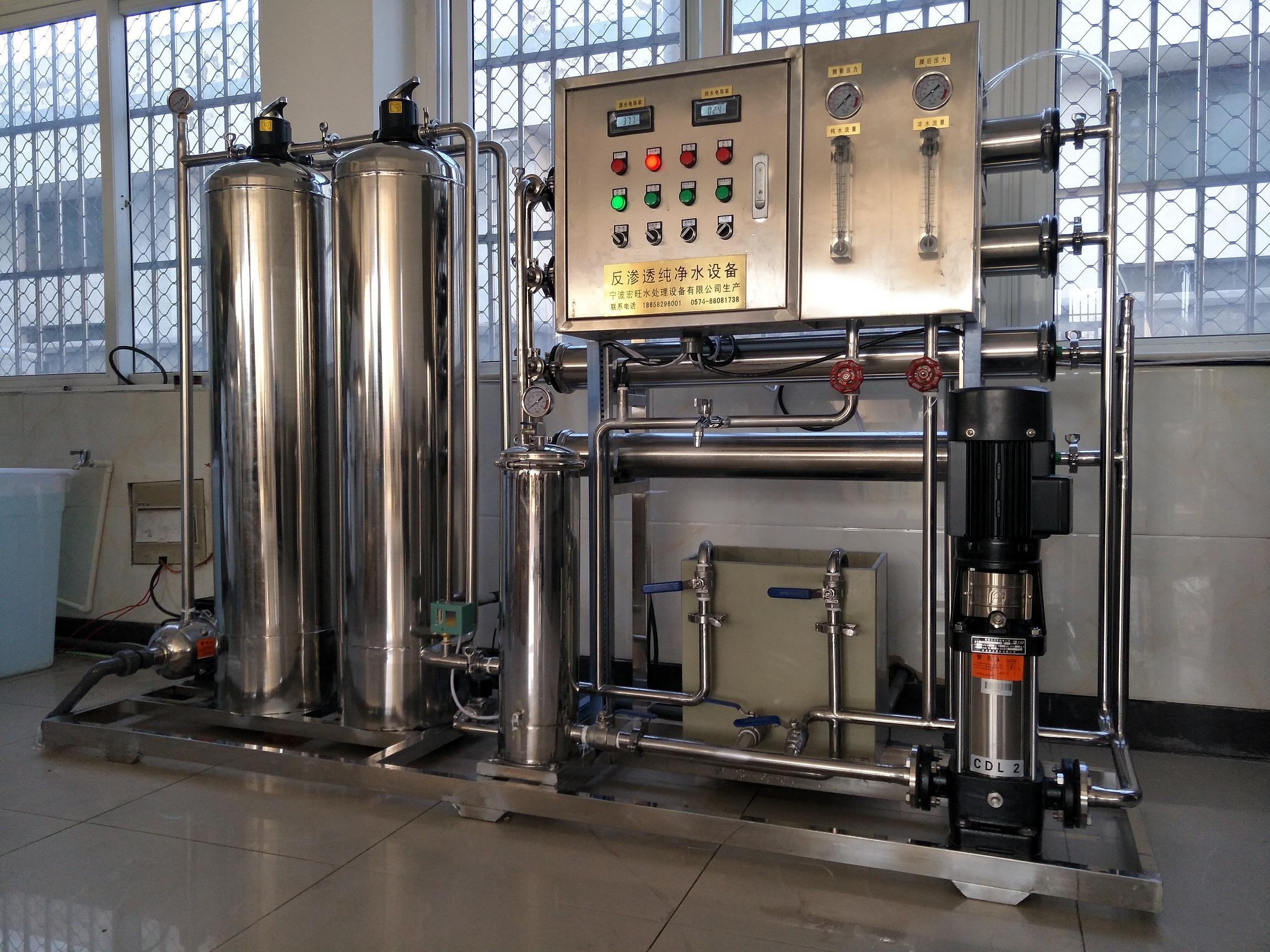 纯净水设备怎样达到零故障