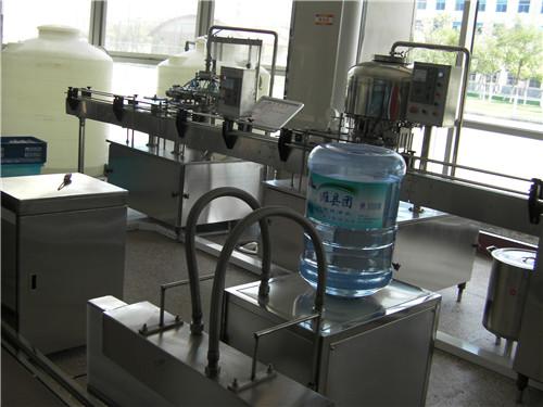 安吉尔天津武警部队水处理生产线