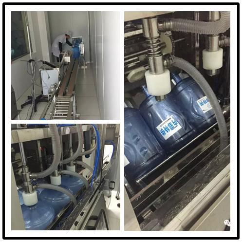 貴州興溪水業桶裝純凈水生產線